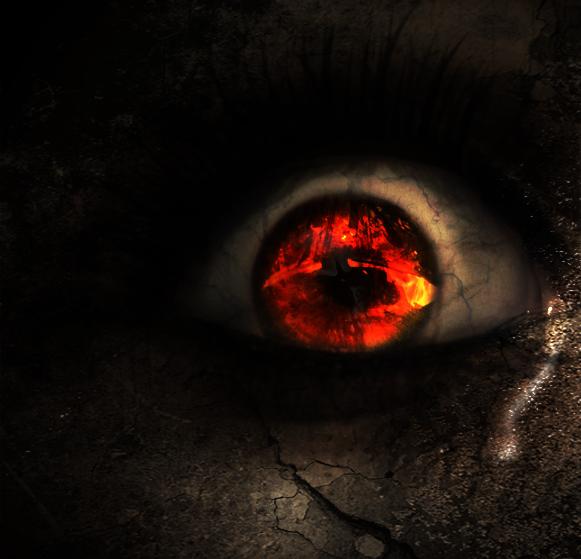 Evil Eye - New Version by Enjokke on DeviantArt