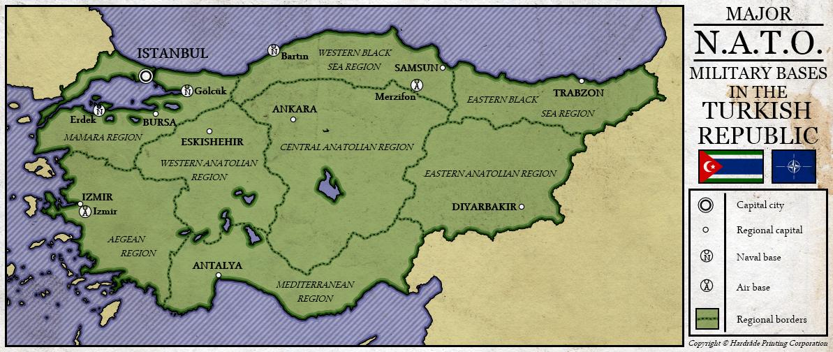 NATO in the Turkish Republic by Kurarun