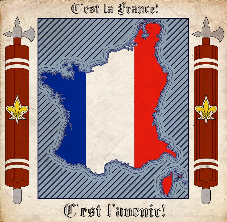 Vive la France. by Kurarun