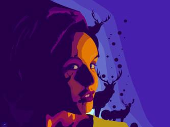 deer girl by XpeHiK