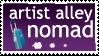 Artist Alley stamp by jurijuri