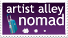 Artist Alley stamp by jurijuri
