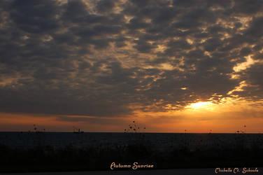 Autumn Sunrise by BellaU
