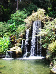 Water Falls As Well by kamais