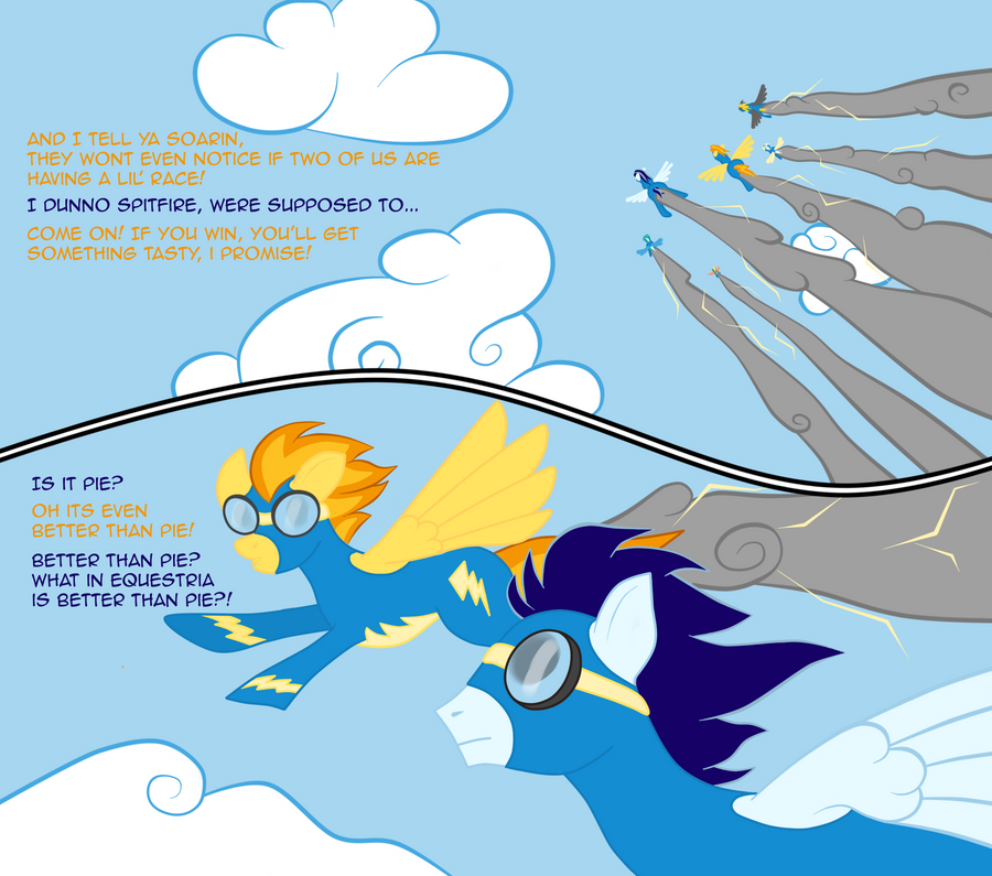 The Wonderbolts Comic Page 1 By Taharon On DeviantArt