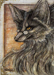 ACEO: Dawnkeeper by Psychocereals
