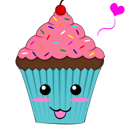 Cute cupcake by sukino chan on deviantart for Cute muffin drawing