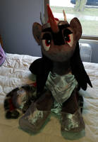 Life Sized Queen Umbra Custom Plush Commission by AkiaCreations