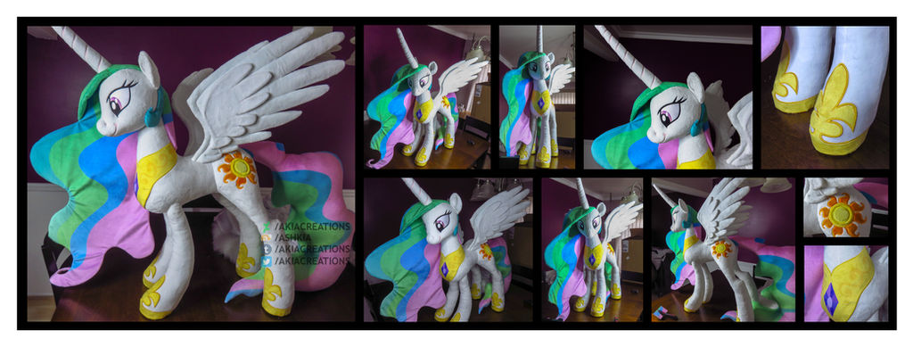 Life-sized Standing Celestia Final! by AkiaCreations