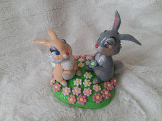 Thumper and His Lady Bunny