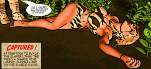 Sheena of The Jungle  Golden Age Comic Style v2