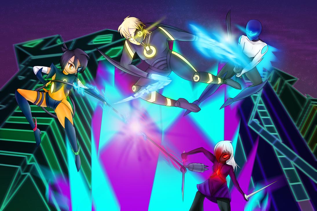 Nede's Multiverse Skirmish: Lost Strife by ZionWorldArtist