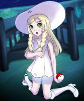 Pokemon Sun and Moon: The Lillie of the Island by ZionWorldArtist