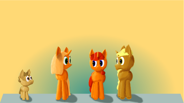 Amber Family Portrait (Shaded)