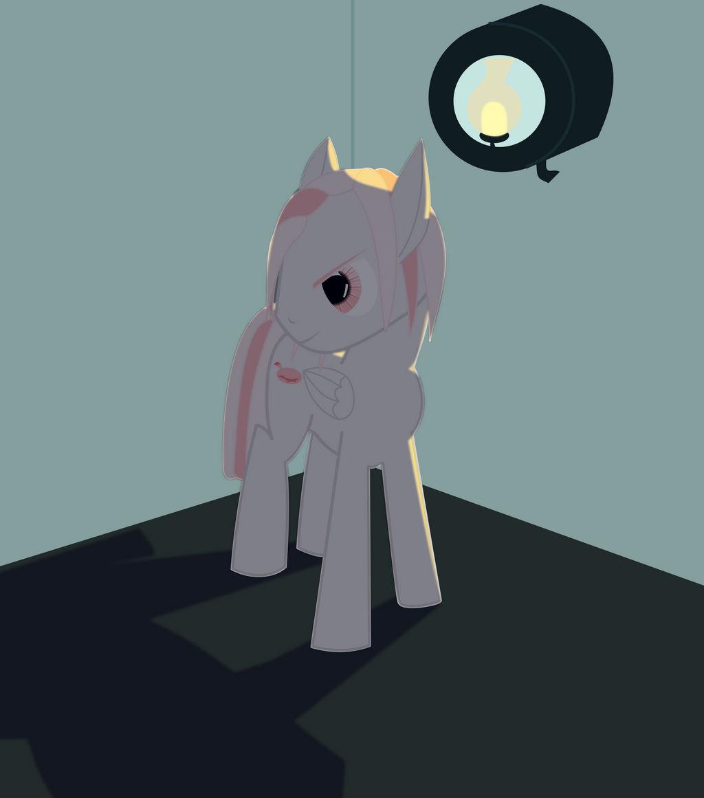 Last Laugh - Ponyfinder Bone Pony Pegasus