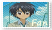 Hiroto Kazama Fan Stamp by Shannenthefox