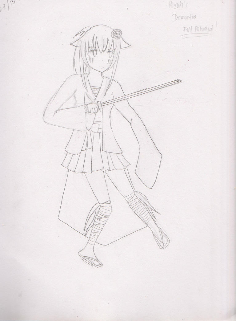 Mizuki's Demon Full Potential by Shannenthefox