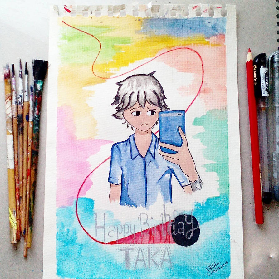 Happy Birthday Taka! by Shannenthefox