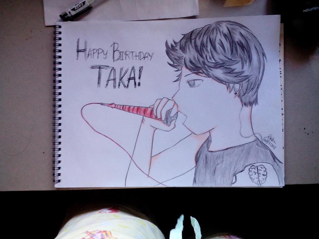 Happy Birthday Taka! (2) by Shannenthefox