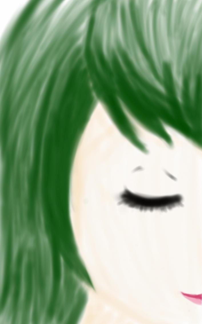 Green Girl by Shannenthefox