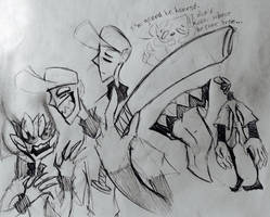 Cartoony Mayhem by Sadowfox