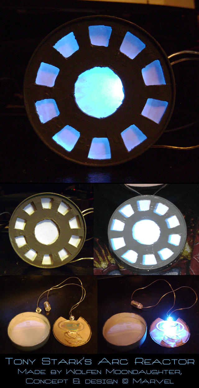 Iron Man: Arc Reactor by witchcraftywolfen