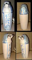 Horus Canopic Jar