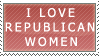 Republican Women Stamp by Sarah-Palin-Fans