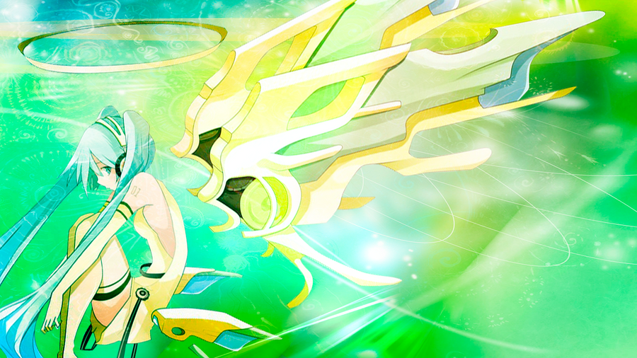 Mis Wallpapers Miku_yellowgreen_by_ailawliet-d4i1w5x