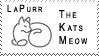 LaPurr Stamp by Fractoid