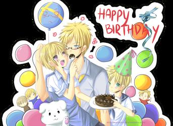 Happy Birthday Su by neokirii