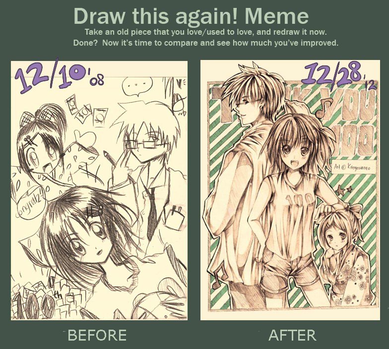 Draw Again Meme lol by neokirii