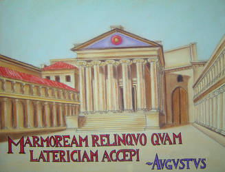 Forum Augustum by baileymcdoogle