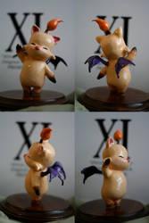 Final Fantasy XI Moogle by baileymcdoogle