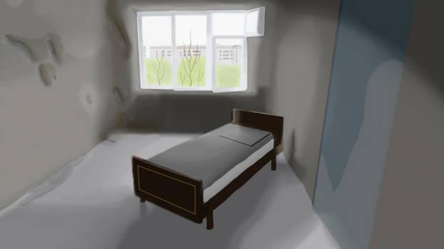 Abandoned Room Digital Painting
