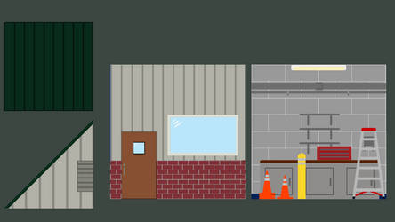 Park Maintenance Building Reference Drawings