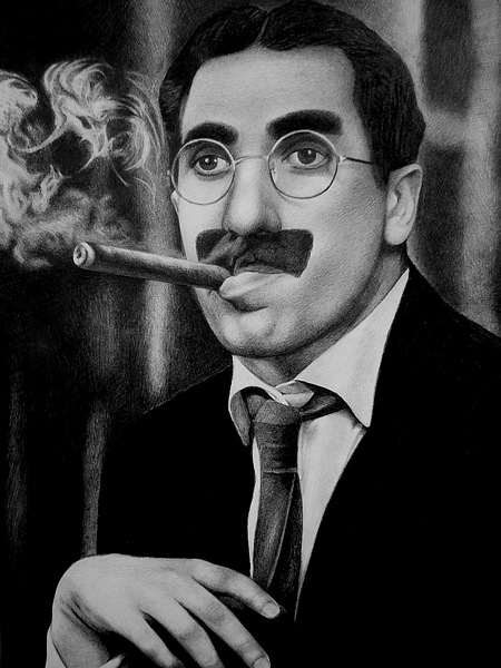 groucho marx arthur sheekman reading