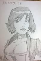 Bioshock Infinite: Elizabeth ACEO by SavantGuarde