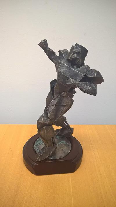 Quake 3 Statue by SavantGuarde