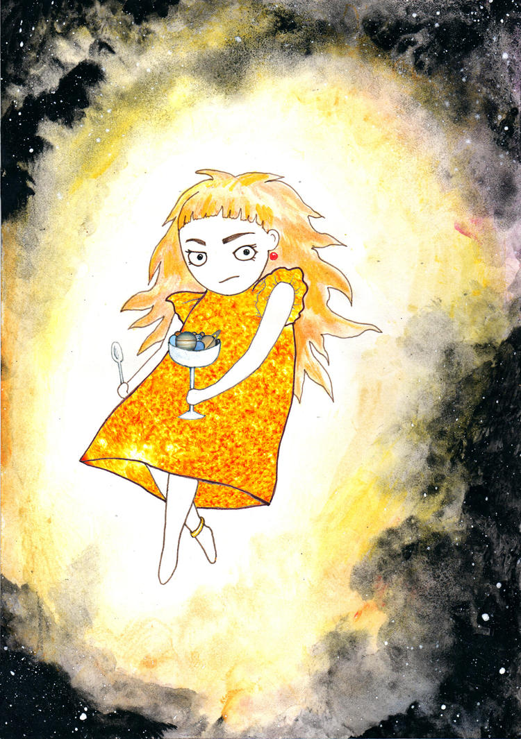 Celestial Cuties: Sun-chan by fallencoin