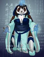 Female Pandaren Concept II by VenneccaBlind