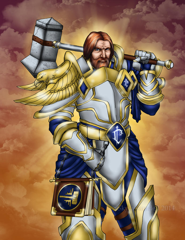 Uther, The Lightbringer by VenneccaBlind