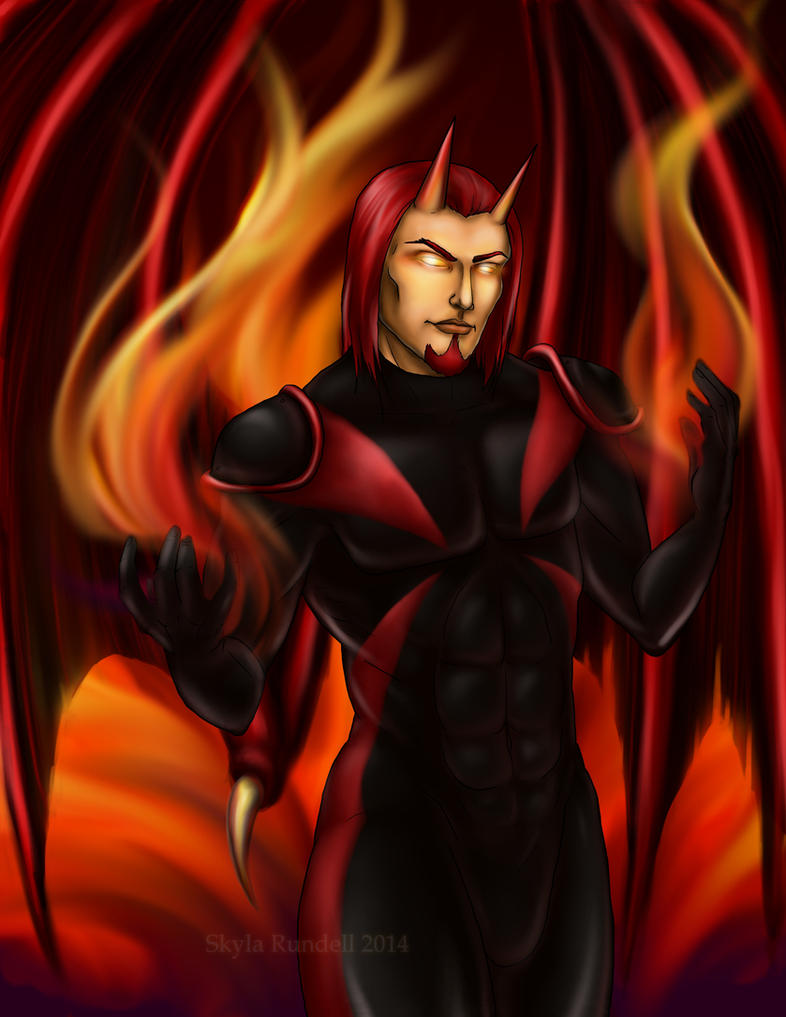 Firedemon by VenneccaBlind