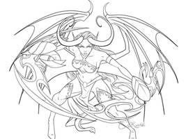 Demon Hunter by VenneccaBlind