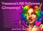 500 Follower Giveaway