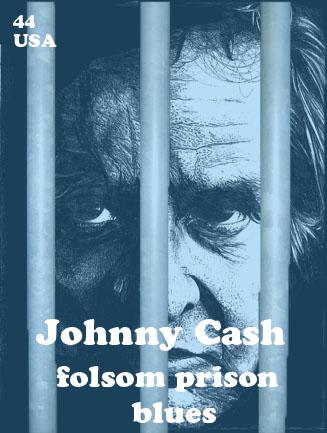 Johnnycash Stamp by infernomanzzoom