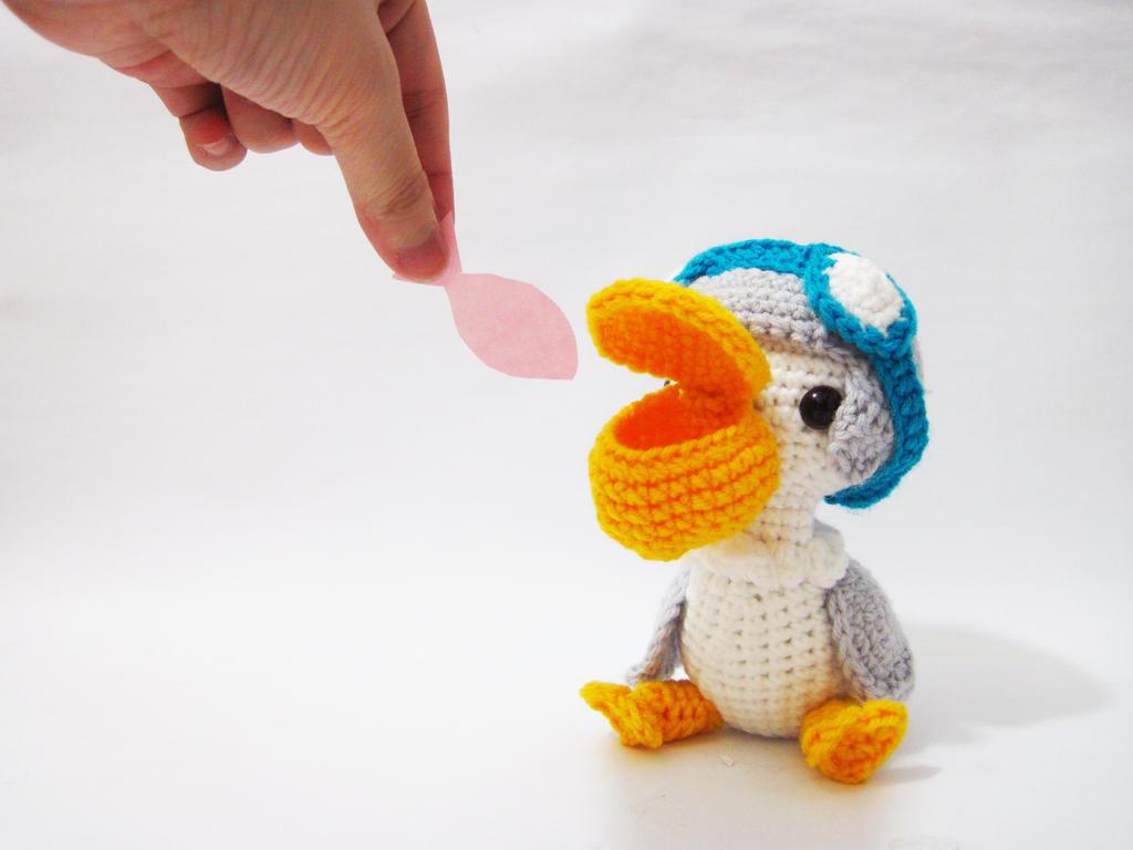 Amigurumi Penny the Pelican by SNCxCreations