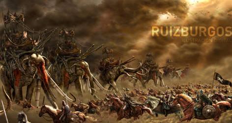 Pelennor Fields by RUIZBURGOS