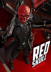 RED SKULL by RUIZBURGOS