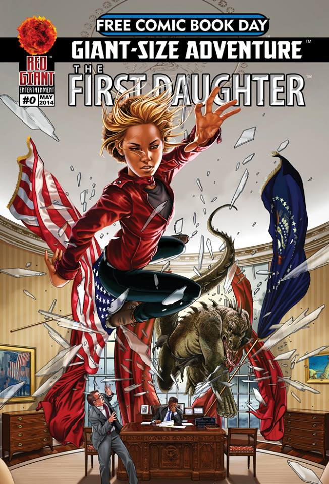 THE FIRST DAUGHTER #0 (cover) by OnlyMilo